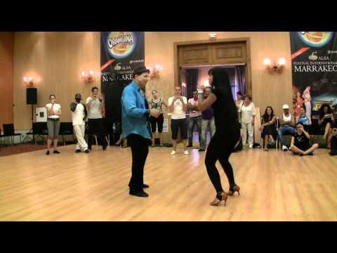 Eddie Torres & Griselle Ponce Social Dancing 2010