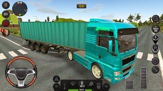 Direksiyonlu Kamyon Sürüş Oyunu 🚚 - Kamyon Simülatör Oyunları 18  Truck Simulator  Europe