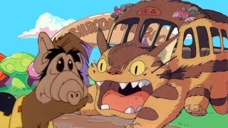 Youtube Poop: Gordon Shumway Successfully Eats the Entire Catbus