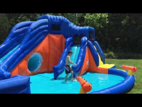 Inflatable Water Slide - Banzai Pipeline Twist (Newer Version)