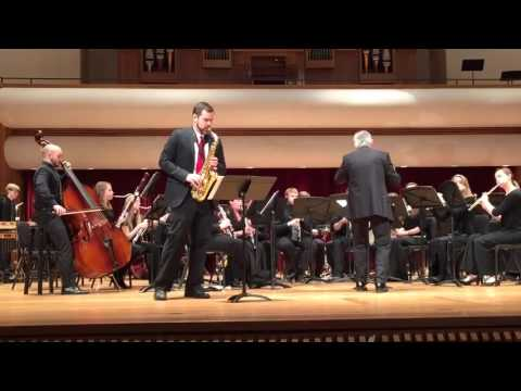 Concerto for Alto Saxophone and Orchestra by Frank Ticheli II. Silver Swan
