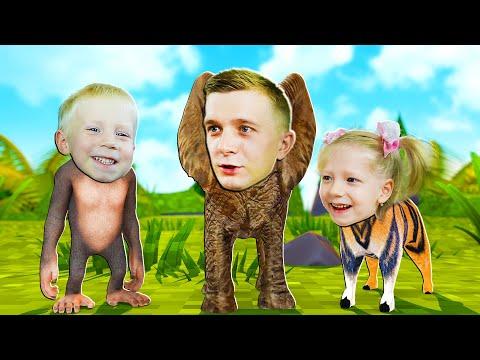 ЖИЗНЬ в ЗООПАРКЕ! Животные сошли с УМА Или СИМУЛЯТОР Жизни в Зоопарке от FFGTV
