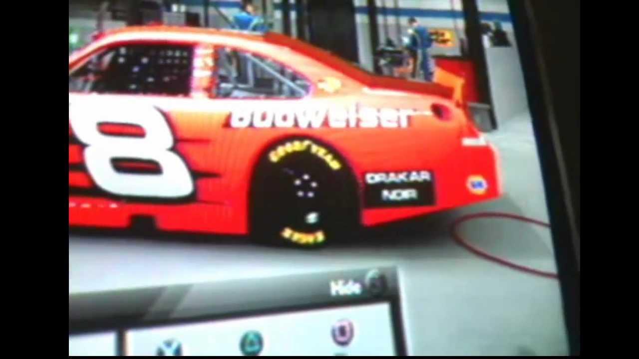 ... 2004 Talladega Budweiser 8 Car Nascar The Game: Inside Line - YouTube