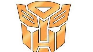 How to draw Autobot Logo from Transformers