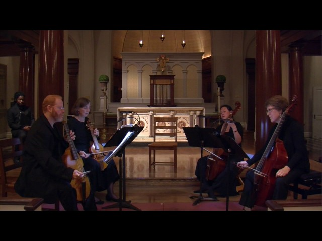 Fantasia for 4 viols by John Ward (1590-1638). Parthenia Viols