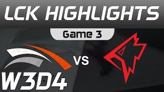 HLE vs GRF Highlights Game 3 LCK Spring 2020 W3D4 Hanwha Life Esports vs Griffin LCK Highlights 2020