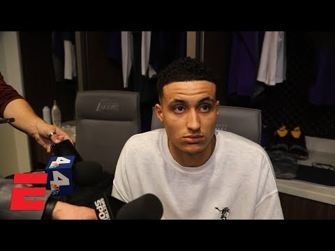 Kyle Kuzma not ready to jump to conclusions after rolling ankle | NBA Sound