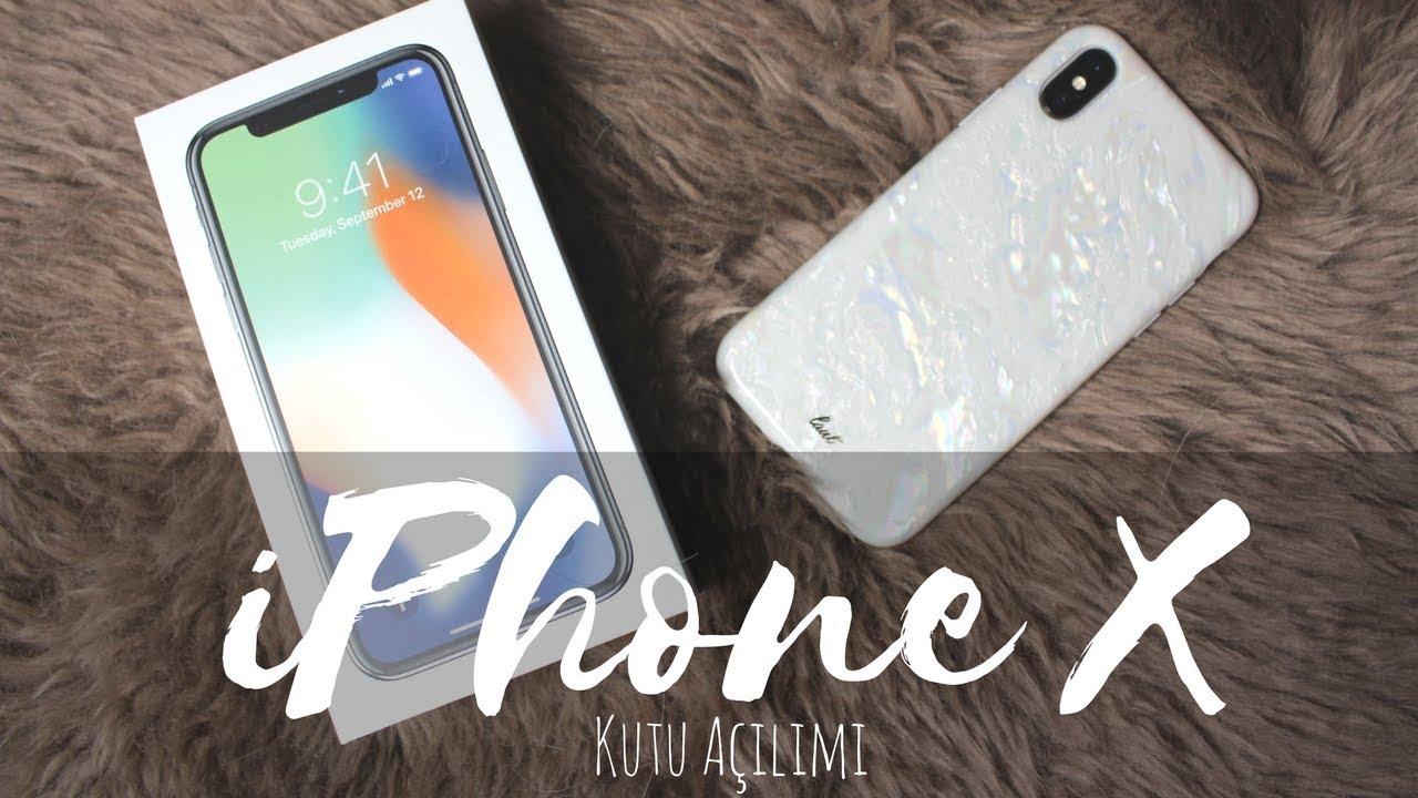 iPhone X | Kutu Açılımı Apple iPhone X Kaç Lira?