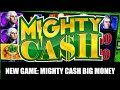 NEW SLOTS - MIGHTY CASH BIG MONEY Mystery Wheel Bonus - TARZAN Grand Wheel Bonus