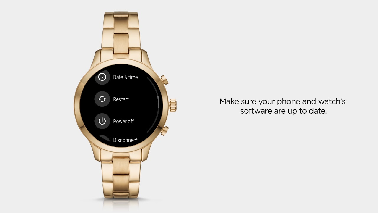 ae79d9cc978e2 Michael Kors Access Runway Smartwatch | Connectivity Issues - YouTube