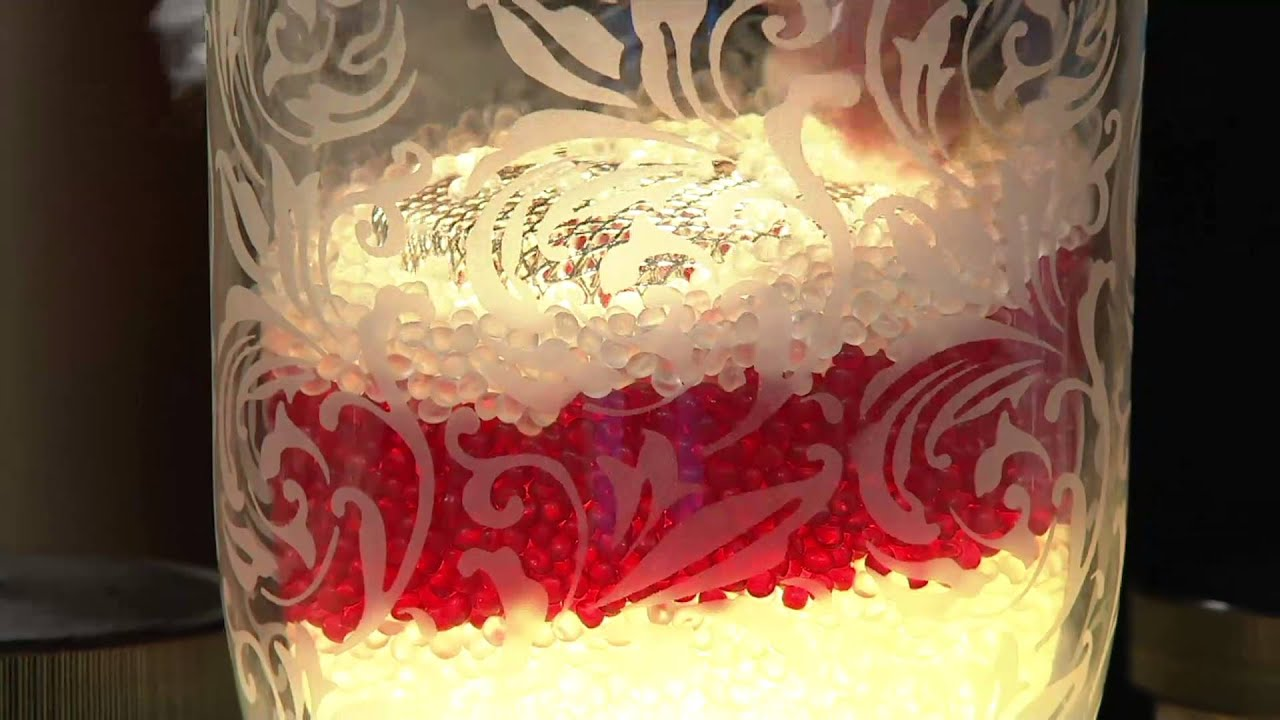 Lamp with 2 Packs of Fragrance Beads by Valerie on QVC - YouTube