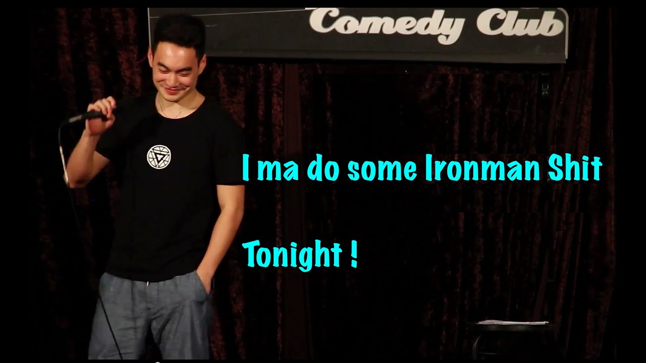 (funny) Asian Fob Doing Standup Comedy
