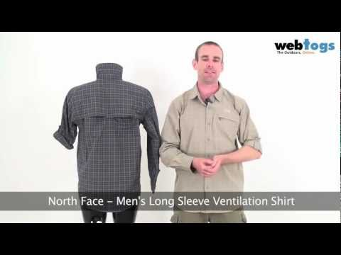 The North Face Men's Long Sleeve Ventilation Shirt - Keep cool and protected with this travel shirt