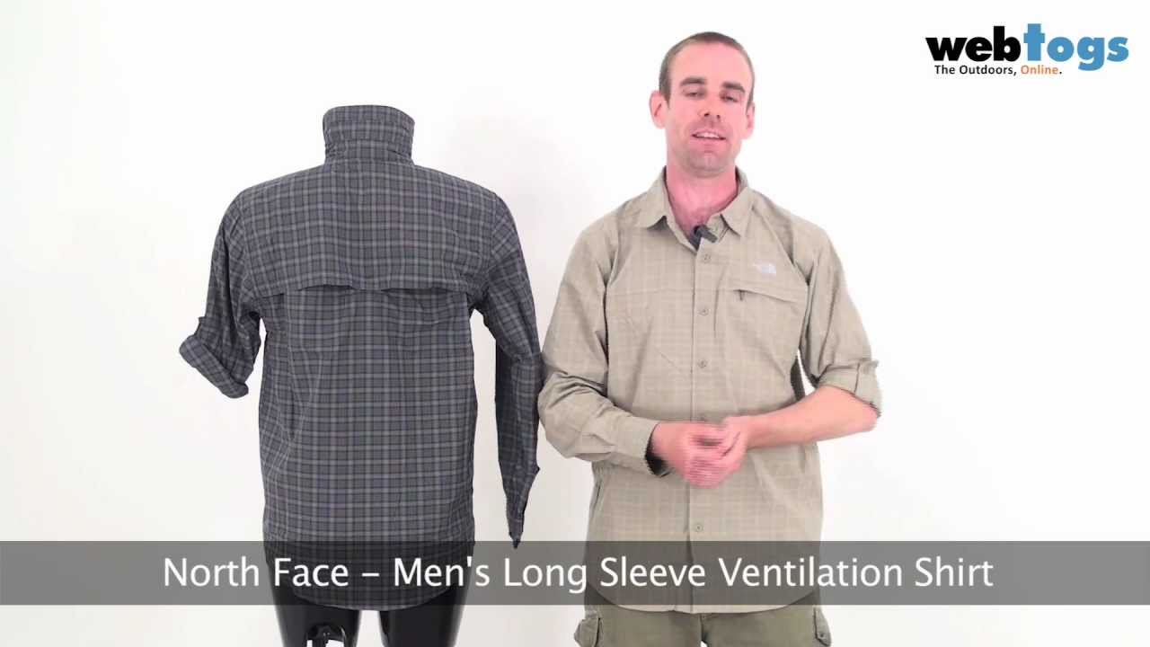 e92db5f89 The North Face Men's Long Sleeve Ventilation Shirt - Keep cool and  protected with this travel shirt