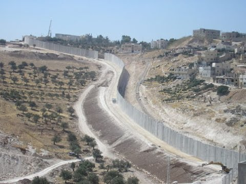 Tour of the West Bank barrier with the architect who built it Part 2/5