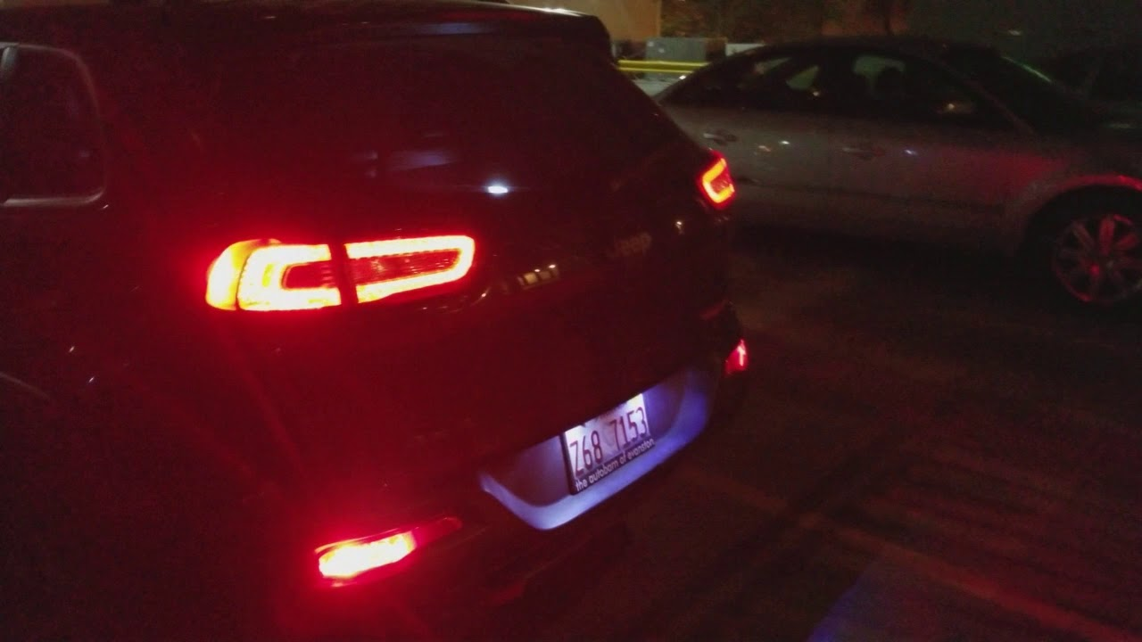 Rear Bumper Lights Replacement 2015 Jeep Cherokee Youtube