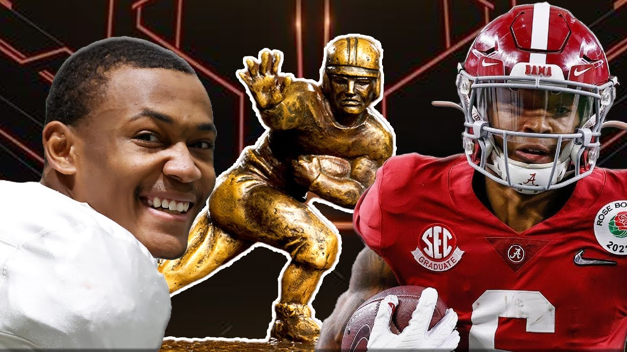 Alabama's DeVonta Smith finished off his perfect senior season in ...