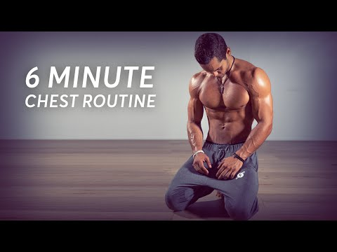 Chest & Triceps Home Workout NO EQUIPMENT (Follow Along)