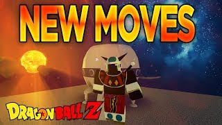 All New Moves in Dragon Ball Z Final Stand Space Update | Roblox | iBeMaine