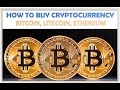 How to Buy CryptoCurrency for the First Time