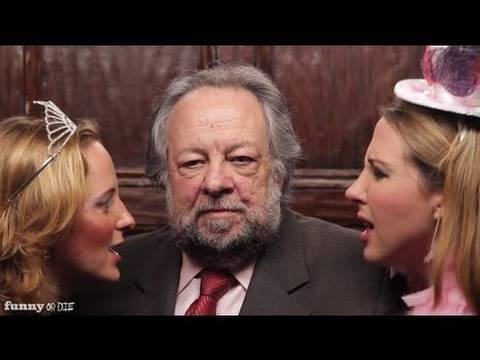 Ricky Jay Trapped In An Elevator With Two Stupid Girls