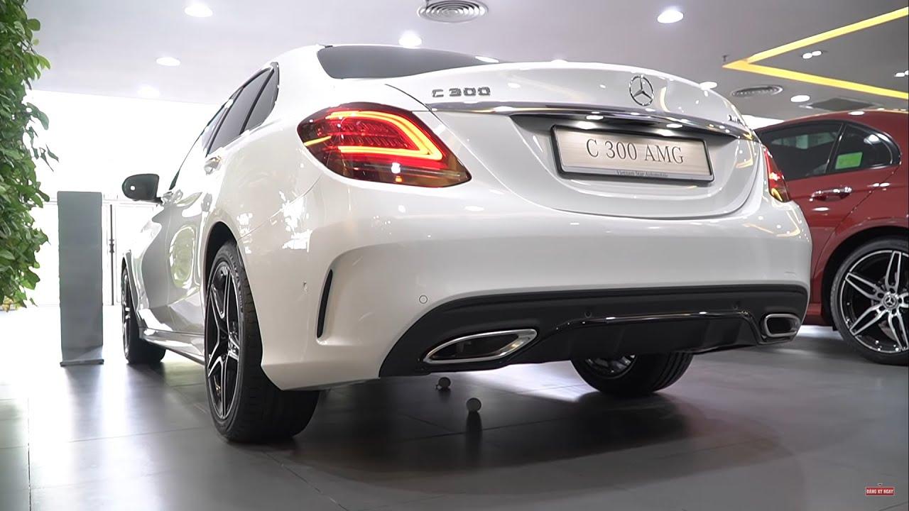 """Mercedes C300 AMG 2020 giá 1,9 tỷ có những gì để trở thành """"Ông trùm"""" trong dòng xe sang C-Class ?"""