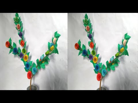 DIY:Home Decoration Idea!! How to Make Decorative Tree Branches!! Tree Branches Crafts....