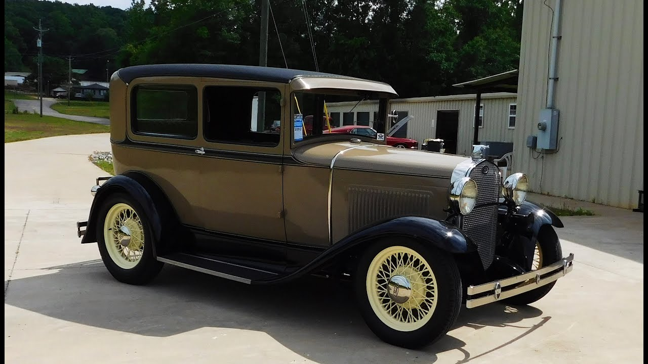 1931 ford model a street rod the ultimate sleeper big. Black Bedroom Furniture Sets. Home Design Ideas