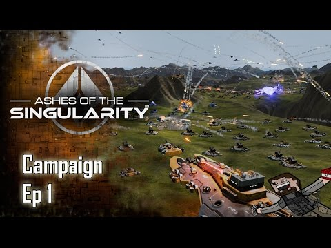 Let's Play - Ashes of the Singularity - Campaign - Ep, 1 |