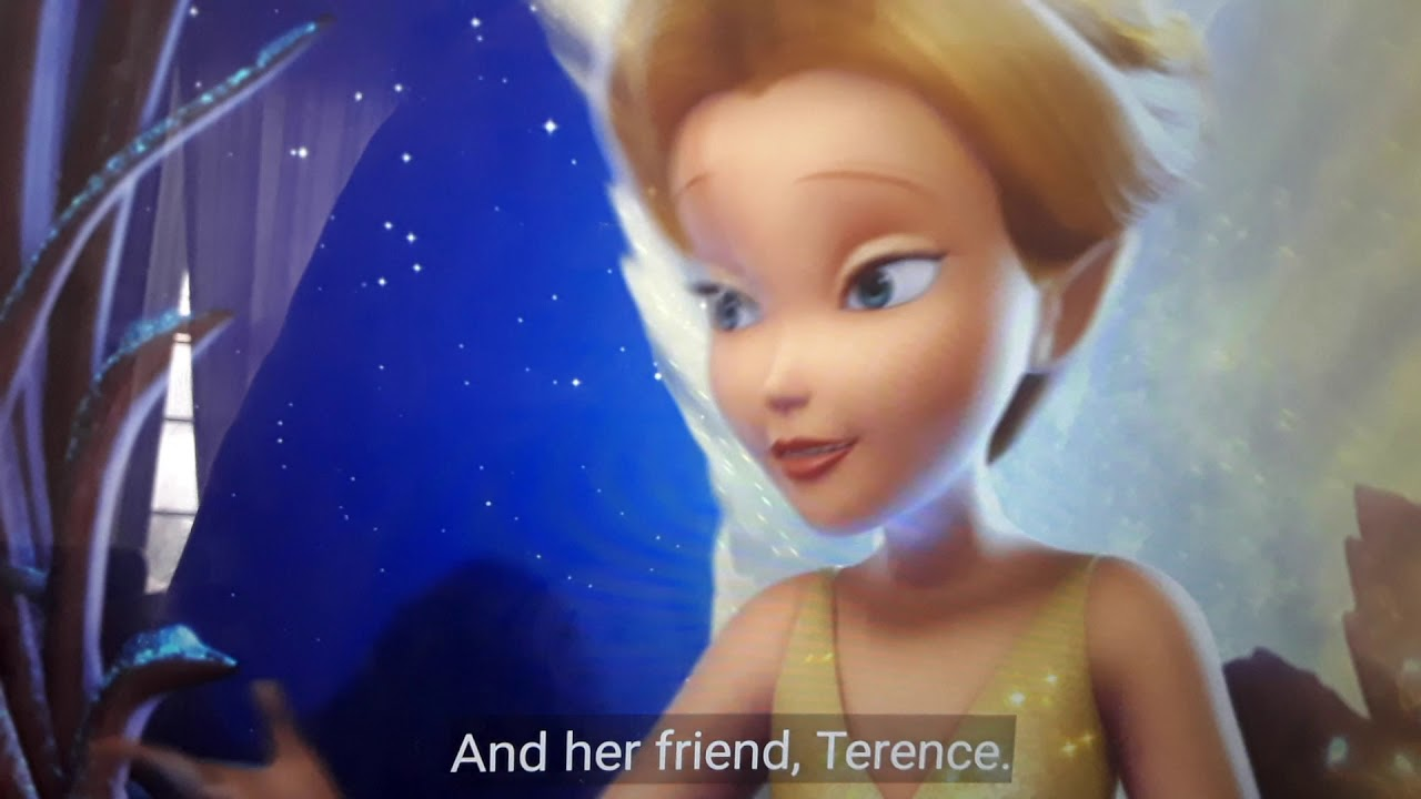 Download Tinkerbell and the lost treasure (2009) ending scene.