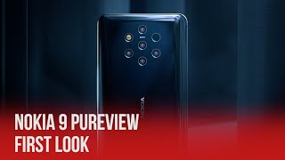 Nokia 9 PureView First Look - 5 Cameras?! | MWC 2019