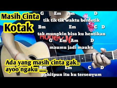 Chord Mudah (Masih Cinta - Kotak)By Darmawan Gitar ( Tutorial Gitar ) Untuk Pemula