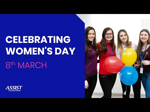 Celebrating Women's Day at ASSIST Software | 8th March