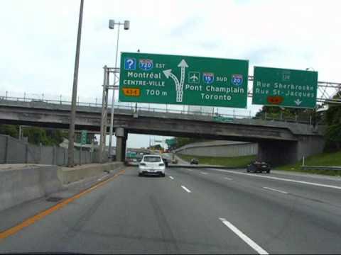 Montreal Highway System, Quebec