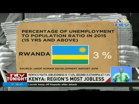 Kenya leads EA region in unemployment, Burundi has least: UNDP