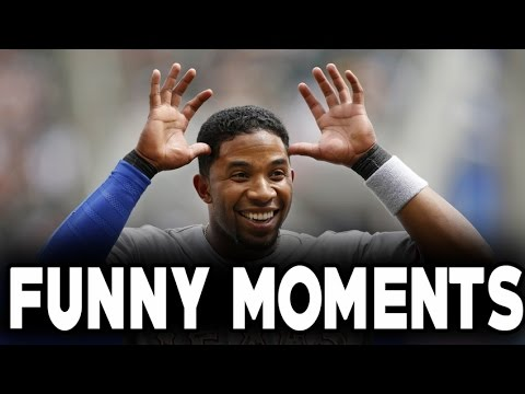 MLB: Elvis Andrus and Adrian Beltre Funny Moments HD