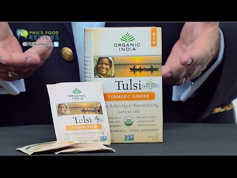 Organic India Tusli Tea Turmeric Ginger is a HIT!