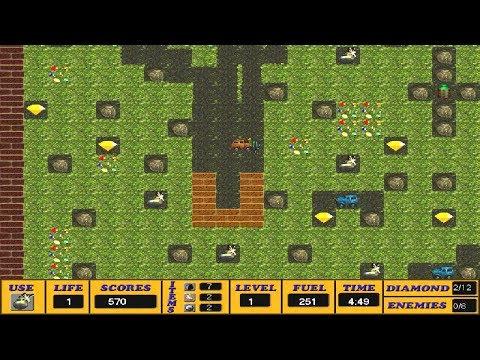 Bomberman vs Digger v1.2 (Windows game 2002)
