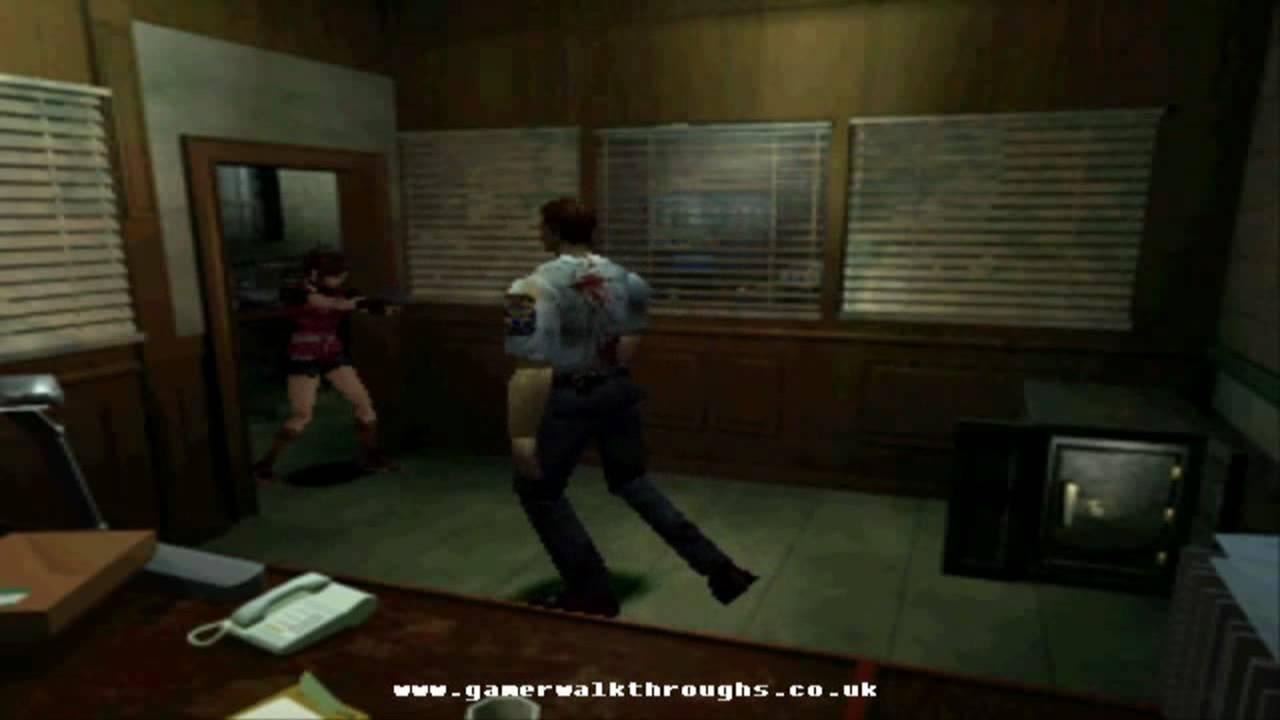 Resident Evil 2 Ps1 Walkthrough Police Station Map Youtube