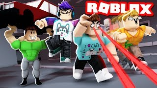 4 PLAYER SUPER POWER TYCOON IN ROBLOX!