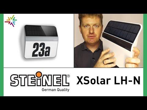 Steinel XSolar L2-S Solarleuchte Hausnummernleuchte Aussenleuchte Leuchte LED