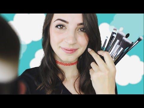 [ASMR] Make-up Brush Triggers