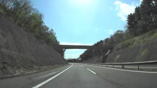 【車載】八戸道・福地PA→東北道・高舘PA【HD】