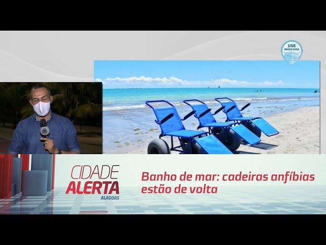 Banho de mar: cadeiras anfíbias estão de volta
