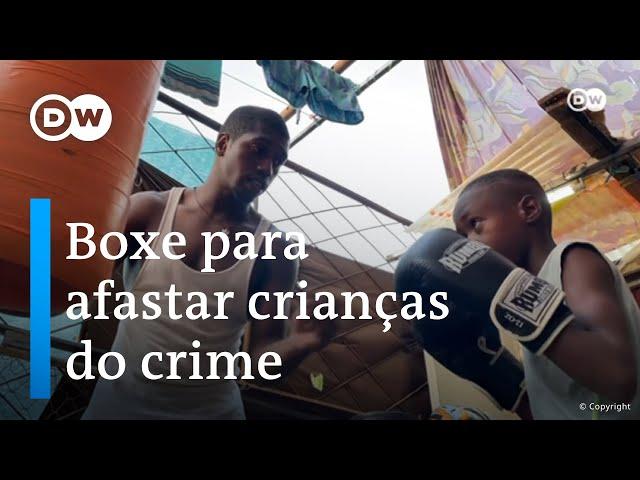 Um campeão de boxe contra a criminalidade