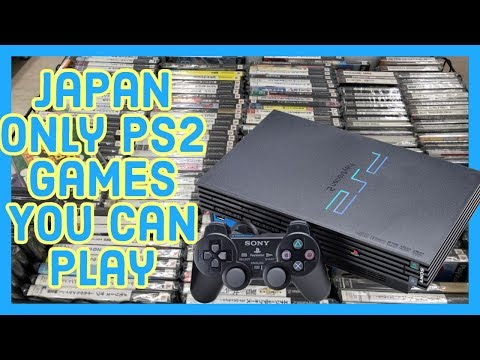 Japan Only PS2 Games You Can Play (Low Language Barrier)