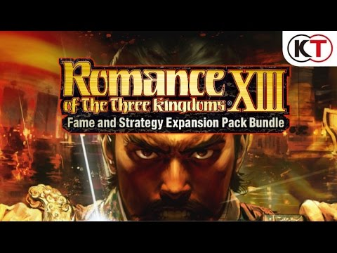 ROMANCE OF THE THREE KINGDOMS XIII - FAME & STRATEGY EXPANSION PACK - LAUNCH TRAILER!