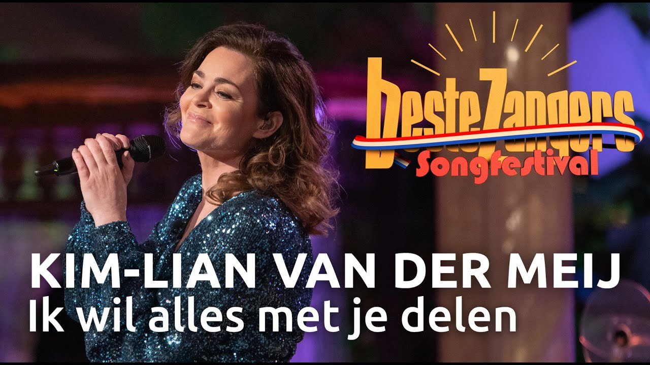 KimLian van der Meij  Ik wil alles met je delen  Beste Zangers Songfestival