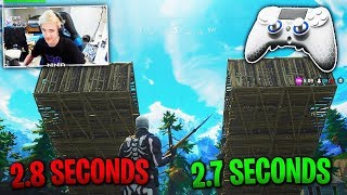 Build like NINJA on CONSOLE! BEST Fortnite Console Settings PS4 & Xbox Building Fast Tips Season 4