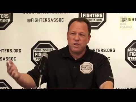 Professional Fighters Association Press Conference
